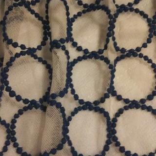 ミナペルホネン(mina perhonen)のミナペルホネンタンバリンエプロンスカート(ひざ丈スカート)