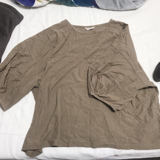 サマンサモスモス(SM2)のSM2 袖ボリュームプルオーバー(カットソー(長袖/七分))