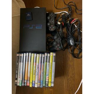 プレイステーション2(PlayStation2)のps2 本体 ソフト(家庭用ゲーム機本体)