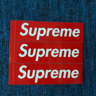 Supreme - supreme ステッカー3枚セット