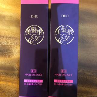ディーエイチシー(DHC)のDHC 薬用 美髪根エッセンスEX 2本セット 新品未開封(スカルプケア)