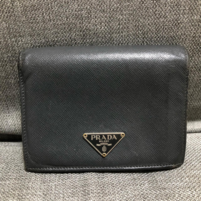 PRADA - PRADA プラダ 折財布の通販 by 腹キン's shop|プラダならラクマ