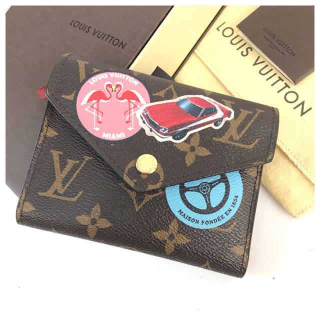 LOUIS VUITTON - ❤️美品❤️ ヴィトン ポルトフォイユ ヴィクトリーヌ M62151 新品同様の通販 by 即購入ok ブランドショップ's shop|ルイヴィトンならラクマ