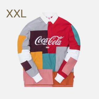 KITH COCA-COLA COLORBLOCK RUGBY コカコーラ(Tシャツ(長袖/七分))