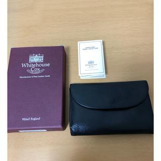 ホワイトハウスコックス(WHITEHOUSE COX)のwhitehouse cox 三つ折り財布(折り財布)