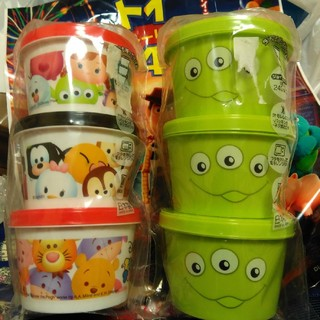 Disney - リトルグリーンメン&ツムツム 保存容器