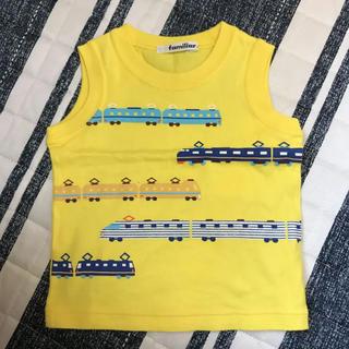 familiar - ファミリア タンクトップ Tシャツ