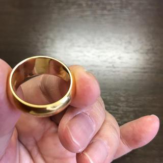 純金k24金の地金丸幸リング(リング(指輪))