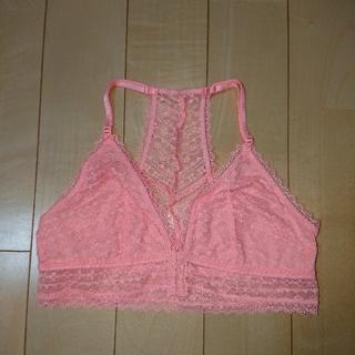 ヴィクトリアズシークレット(Victoria's Secret)のヴィクトリアズ・シークレット ブラ 下着 オレンジ Mサイズ(ブラ)