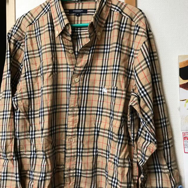 BURBERRY(バーバリー)のBURBERYメンズ長袖シャツ メンズのジャケット/アウター(その他)の商品写真