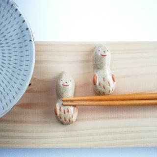 ピーナッツ 箸置きセット(テーブル用品)
