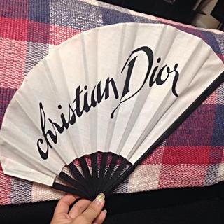 クリスチャンディオール(Christian Dior)の【Dior】アシンメトリー扇子♡(和装小物)