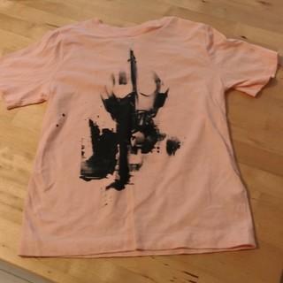 ジーユー(GU)の未使用130 ウルトラマン Tシャツ ピンク(Tシャツ/カットソー)
