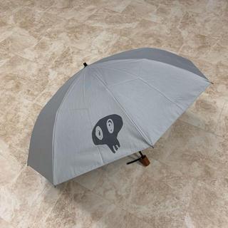 メンズ日傘・雨傘 いとうせいこうさんデザインの可愛いドクロ柄  最終値下げ!(傘)