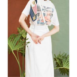 レディアゼル(REDYAZEL)の【READYAZEL】デニムサスペンダースカート(ひざ丈スカート)