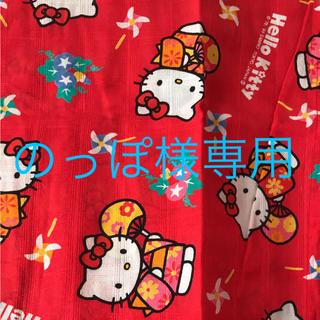 ハローキティ(ハローキティ)の子供用浴衣  キティー  110cm(甚平/浴衣)