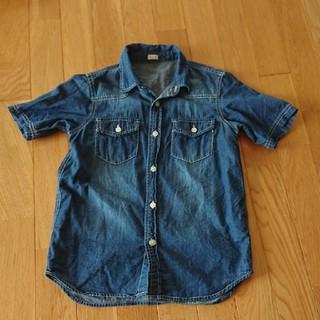 GU - GU デニムシャツ 半袖