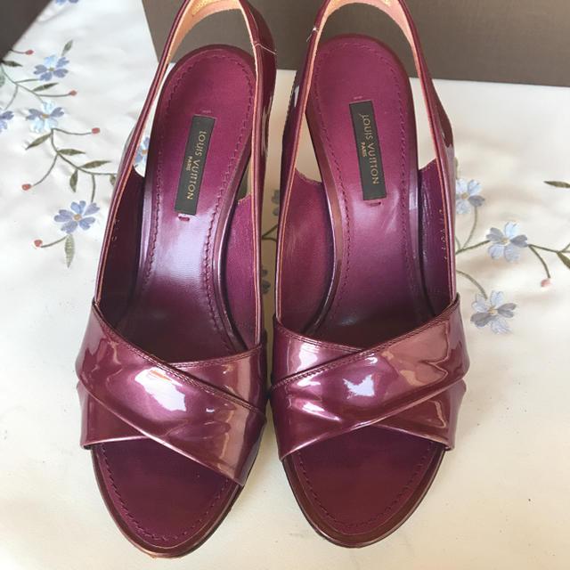 LOUIS VUITTON(ルイヴィトン)のルイヴィトンのサンダルです レディースの靴/シューズ(サンダル)の商品写真