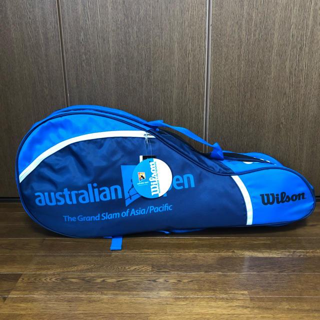 wilson(ウィルソン)の値下げしました!【新品・未使用】Wilson テニスラケットケース スポーツ/アウトドアのテニス(バッグ)の商品写真