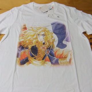ユニクロ(UNIQLO)のベルサイユのばら ユニクロ  オスカル柄  XL  半袖Tシャツ(その他)