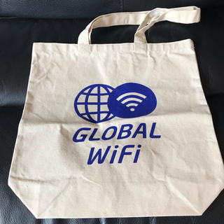 GLOBAL WIFI エコバッグ(エコバッグ)