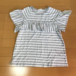 GU - guボーダーTシャツ 150