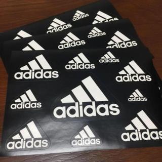 アディダス(adidas)のアディダス ステッカー 3枚 セット(ノベルティグッズ)