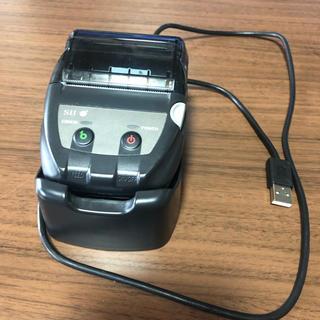 セイコー(SEIKO)のモバイルレシートプリンター MP-B20(店舗用品)