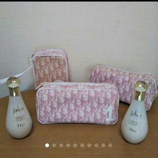 ディオール(Dior)のクリスチャンディオール♥ジャドールBODYミルクピンクのポーチ5点セット♥(ボディローション/ミルク)