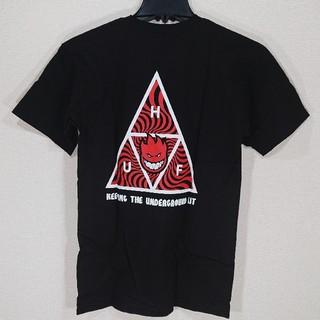 ハフ(HUF)の【S】HUF ハフ/半袖Tシャツ/SPITFIRE TT SS/黒(Tシャツ/カットソー(半袖/袖なし))