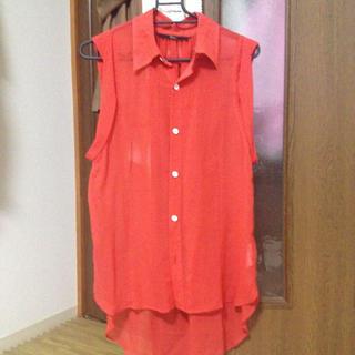 エディション(Edition)のノースリーブシャツ(シャツ/ブラウス(半袖/袖なし))