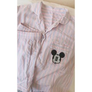 ジーユー(GU)のミッキーパジャマ 半袖 ショーパン(パジャマ)