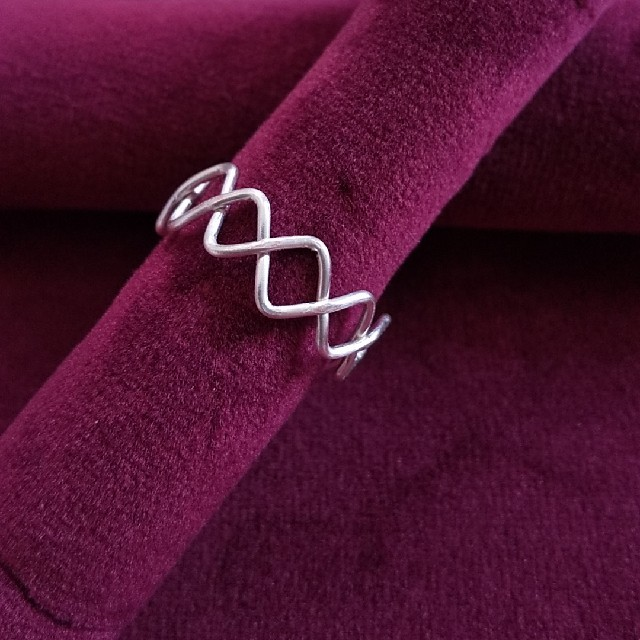 シルバー色リング レディースのアクセサリー(リング(指輪))の商品写真