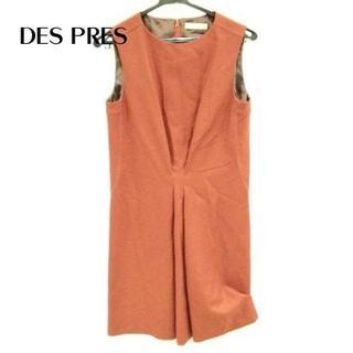 デプレ(DES PRES)のDES PRES(デプレ) ワンピース サイズ1 S レディース美品 ブラウン(ひざ丈ワンピース)