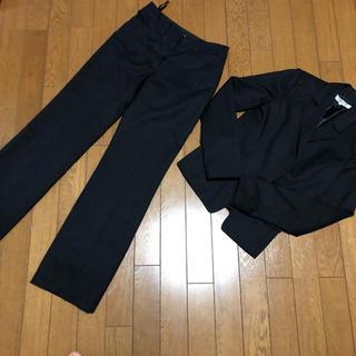 ナチュラルビューティーベーシック(NATURAL BEAUTY BASIC)のナチュラルビューティーベーシック スーツ ストライプ 3点セット(スーツ)