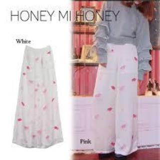 ハニーミーハニー(Honey mi Honey)のhoney mi honey♡リッププリントパンツ(その他)