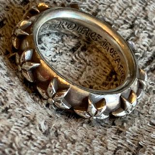 クロムハーツ(Chrome Hearts)のクロムハーツ スターバンドリング(リング(指輪))