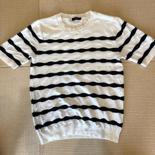 コムサイズム(COMME CA ISM)のコムサ ニットカットソー おしゃれ メンズ(Tシャツ/カットソー(七分/長袖))