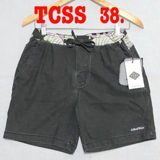 ロンハーマン(Ron Herman)の花柄 ♪ 38 新品 TCSS ボードショーツ スイムパンツ 39  黒(水着)