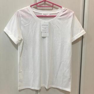 ザショップティーケー(THE SHOP TK)の★白Tシャツ&キャミセット タグ付き(Tシャツ(半袖/袖なし))