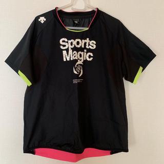 デサント(DESCENTE)のバレー用  デサント半袖&ルコックTシャツ(バレーボール)