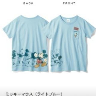ベルメゾン(ベルメゾン)のベルメゾン ディズニー ミッキー M パラパラTシャツ (Tシャツ(半袖/袖なし))