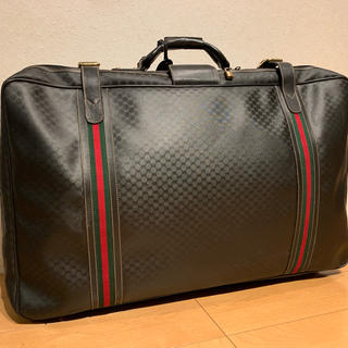 check out 3a1f8 d902d GUCCI スーツケース ヴィンテージ