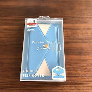 新品☆iPhone8・7・6s・6 ミラー&カードポケット付き手帳カバー(iPhoneケース)