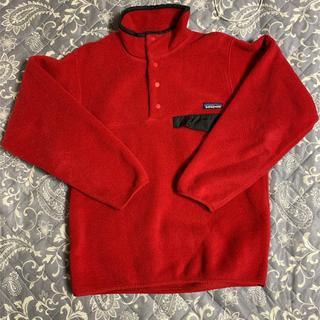 パタゴニア(patagonia)のUFJ45パタゴニアフリースジャケット暗赤系90'sビンテージ(その他)
