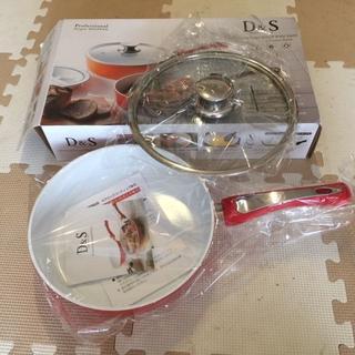 【rosa02112様専用】セラミックコーティング 24cm深型フライパン (鍋/フライパン)