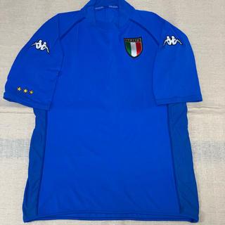 カッパ(Kappa)のKappa イタリア代表 サッカーシャツ/フリーサイズ【中古】(ウェア)