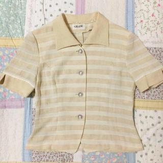 ロキエ(Lochie)の古着 vintage サマージャケット 羽織り(ノーカラージャケット)