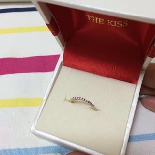 ザキッス(THE KISS)のTHE KISSの指輪♡9号♡(リング(指輪))