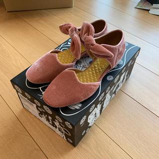 エフトゥループ(F-TROUPE)のF-TROUPE ベルベットリボンシューズ(ローファー/革靴)
